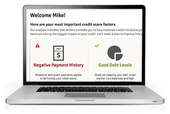We've pulled all of the important information about your credit profile together and display it in one easy-to-understand interface.