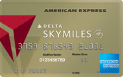 Gold Delta SkyMiles Credit Card from American Express credit card
