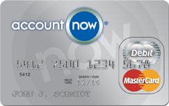 Apply online for AccountNow® Prepaid MasterCard®