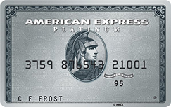 The Platinum Card from American Express credit card