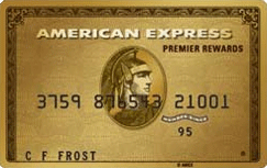 American Express Premier Rewards Gold Card credit card