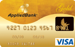 Applied Bank® Secured Visa® Gold Credit Card