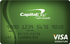 Capital One Cash Rewards - $100 Cash Back Bonus credit card