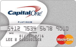 Capital One Platinum Credit Card credit card