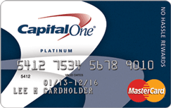 Capital One Cash Rewards for Newcomers credit card