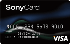 Sony Card from Capital One credit card