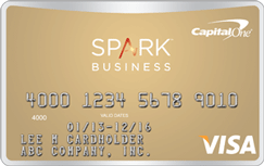 Capital oner sparkr classic for business creditcom for Capital one credit card for business