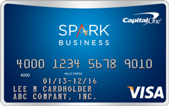 Capital e R Spark R Miles Select for Business