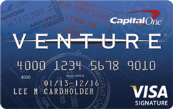 Bad Credit Loan >> Capital One(R) Venture(R) Rewards Credit Card | Credit.com