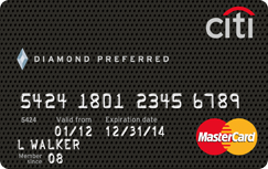 Citi R Diamond Preferred R Card