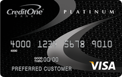 For credit credit one cards bank bad credit