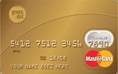 Green Dot Prepaid MasterCard credit card