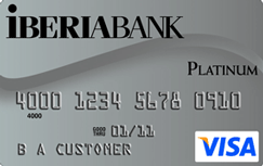 IBERIABANK Visa Platinum credit card