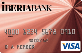 IBERIABANK Visa Select credit card