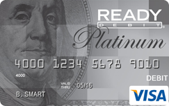 READYdebit® Visa Prepaid Card