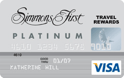 Simmons First Visa® Platinum Rewards