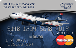 The Us Airways R Premier World Mastercard R