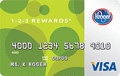 image of 1-2-3 REWARDS® Visa® Card credit card