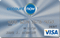 image of AccountNow® Prepaid Visa® Card  credit card