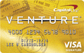 image of Capital One&reg; VentureOne<sup style='font-size: 80%;'>sm</sup> Rewards Credit Card credit card