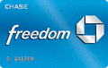 image of Chase Freedom® Visa $100 Bonus Cash Back + 0% Intro APR credit card