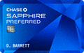 image of Chase Sapphire Preferred® credit card