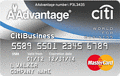 image of CitiBusiness®/ AAdvantage® World MasterCard® credit card
