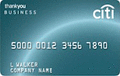 image of CitiBusiness ThankYou® Card credit card