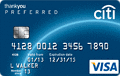 Citi ThankYou? Preferred Card for College Students - Earn 2,500 Bonus Points