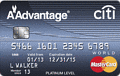 image of Citi® Platinum Select® / AAdvantage® World MasterCard® credit card
