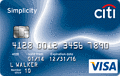 image of Citi Simplicity® Card credit card