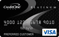 VISA® Platinum from Credit One Bank®