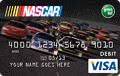 image of NASCAR® Reloadable Prepaid Visa® Debit card credit card