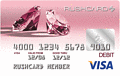 Prepaid Visa® Pink Diamond RushCard
