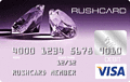 image of Purple Diamond Prepaid Visa® RushCard credit card
