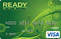 image of READYdebit® Visa Mint Control Prepaid Card credit card