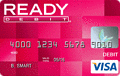 READYdebit? Prepaid Visa? Card