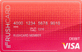 image of Gloss Prepaid Visa® RushCard credit card