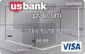 image of U.S. Bank Business Platinum Visa® Card credit card