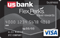 image of U.S. Bank FlexPerks Business Travel Rewards Visa® card - 20,000 Bonus FlexPoints credit card