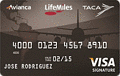 LifeMiles Visa Signature® Card