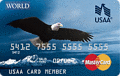 image of USAA World MasterCard® credit card