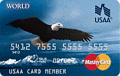 image of USAA Secured Platinum MasterCard® Secured Card credit card