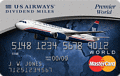 image of The US Airways Premier World MasterCard® credit card