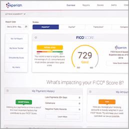 Sample experian credit report experian credit expert.